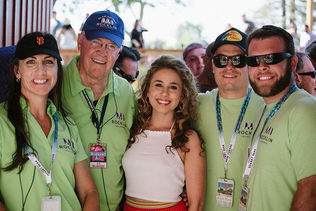 Picture of Haley Reinhart and Event Staff